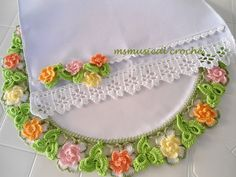 COLLECTION: Beautiful edging collection ♥LCB-MRS♥ with diagrams and some picture instructions.