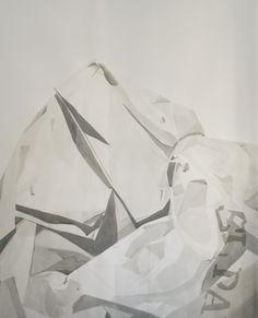 Anàlisi dels sòlids tinta i aiguada sobre paper 185 x 150 cm www.tonisignes.com