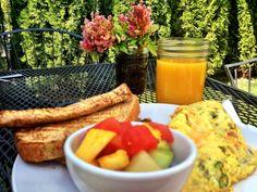 Breakfast at Chaps in Spokane, WA.