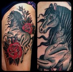 Horse Tattoo by Matthew Houston