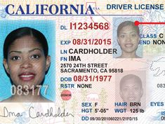 New California Drivers' Licenses, ID Card Unveiled Certificate Design, Birth Certificate, Sacramento, Drivers License California, Driver License Online, Driver's License, New Drivers, C Class, Citizenship
