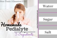 But, if you think Pedialyte is safe...think again. All it takes is a quick look at the ingredients and you know that it is NOT safe to drink. Let's look,