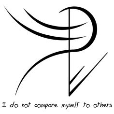 """""""I do not compare myself to others"""" sigil requested by anonymous sigil requests closed until Saturday"""
