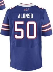 "$78.00--Nick Barnett Jersey - Elite Blue Home Nike Stitched Buffalo Bills #50 Jersey,Free Shipping! Buy it now:click on the picture, than click on ""visit aliexpress.com"" In the new page."