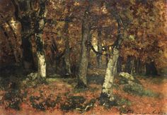 Page of The Depth of the Forest by PAÁL, László in the Web Gallery of Art, a searchable image collection and database of European painting, sculpture and architecture Impressionist Paintings, Landscape Paintings, Landscapes, Web Gallery Of Art, National Gallery, European Paintings, Artist Painting, Art Reproductions, Orchids