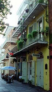 Faulkner House Books is located at 624 Pirate's Alley in the heart of New Orleans' beautiful and historic French Quarter, just off Jackson Square, behind the Cabildo and opposite St. Louis Cathedral's rear garden.