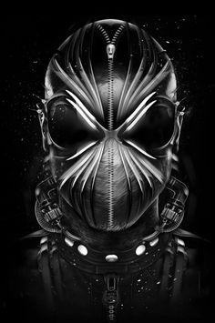 FANTASMAGORIK® SPIDER BLACK II  Digital Art, Illustration