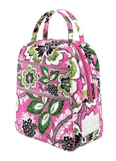 b46133852e87 Vera Bradley Priscilla Pink Lunch Bunch Lunch Box or Cosmetic Case.Read  more at http