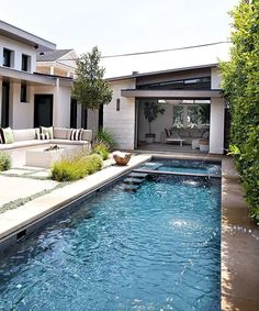 Stock Tank Swimming Pool Ideas, Get Swimming pool designs featuring new swimming pool ideas like glass wall swimming pools, infinity swimming pools, indoor pools and Mid Century Modern Pools. Find and save ideas about Swimming pool designs. Small Swimming Pools, Luxury Swimming Pools, Dream Pools, Swimming Pools Backyard, Swimming Pool Designs, Pool Spa, Indoor Pools, Backyard Pool Landscaping, Backyard Pool Designs