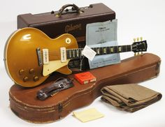 1954. Gibson. Les. Paul. Gold. Top.