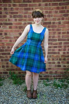 An Autumnal Lilou Dress (Even Though The Summer Has Only Just Arrived) #LoveatFirstStitch @Tilly Walnes