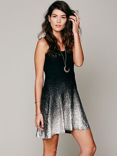 Free People Ombre Foil Dress, $98.00 I love all of the colors that this dress comes in.