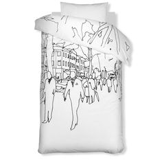 Hetkiä/Moments duvet cover and pillow case