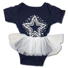 5f0be2aa3 Dallas Cowboys Infant Girl Dress  baby  kids  Dallas  cowboys Dallas  Cowboys Baby