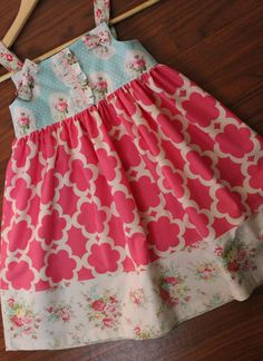 VintageSweet Clothing, GORGEOUS fabrics!! Perfect for Easter with coordinating sister dress too!