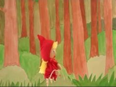 Le Petit Chaperon Rouge - video in French with puppets