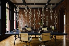 Gothic Office by Jessica Helgerson Interior Design, Portland, via Yellowtrace.
