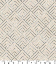 Mesa  Pewter Grey Chenille Geometric Design Curtain Upholstery Craft Fabric