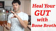 The Best Bone Broth Recipe For Healing Leaky Gut-bone marrow cook 400 20 min-put bones in with fish heads and pig feet or knuckles water:acv sit for 20 then simmer-- with veggies carrots celery onions leeks pureed and added p hrs Slow Cooker Bone Broth, Beef Bone Broth, Recipes With Beef Bones, Best Bone Broth Recipe, Onion Leeks, Onions, Bone Broth Benefits, Microbiome Diet, Good Bones