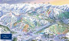 Mapa pistas de Perisher
