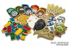 Lego / Star Wars / Harry Potter Cookies by Jillfcs