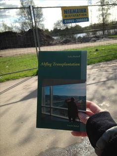 """Baustelle Leben?  """"Abflug Transplantation Letzter Aufruf"""", das Buch. #organspende"""
