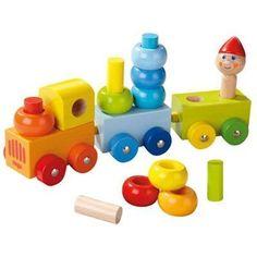 Haba Ontdektrein Kleurenring - Baboffel - De kinder- en speelgoedwinkel voor bijzonder speelgoed