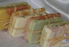 Natural Soap Gift Sets  Elegant Luxurious Perfect Set by WildHerb, $16.50