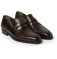 BerlutiAndy Genova Leather Loafers