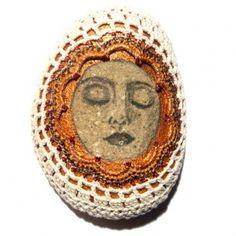 lois collins #crochet stones