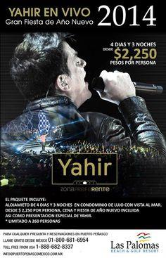 Yahir en Vivo, Fiesta de Año Nuevo