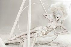 White Photography by Ruben Afanador Fashion Shoot, Editorial Fashion, White Photography, Fashion Photography, Dance Movement, Strange Photos, Angels And Demons, Best Photographers, Vintage Photographs