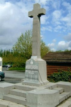 Kings Royal Rifle Corps Memorial, Bellewaerde, Hooge.