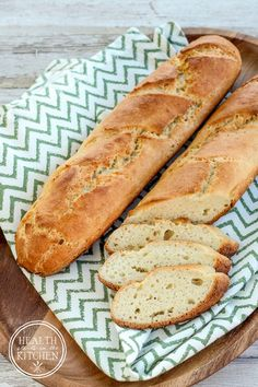 Grain-Free French Bread {Paleo, Gluten-Free & Vegetarian}
