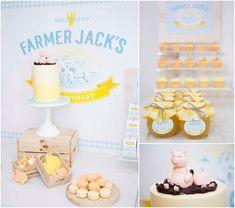 Farmer Jacks 3rd Birthday Party