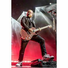 #Repost @rockshowpix: @zmyersofficial of @shinedown #carnivalofmadness #guitar #paulreedsmith #jordans #shinedown #zachmyers #pedaltrain @zachmyersnation   via Instagram http://ift.tt/2bwUjWz  Shinedown Zach Myers