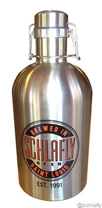 "Schlafly Now Selling Stainless Steele Growlers www.LiquorList.com ""The Marketplace for Adults with Taste!"" @LiquorListcom   #LiquorList.com"