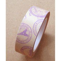 Washi Tape Vintage sellos viaje:
