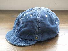 "【DECHO】 BALL CAP -WORLD WORKERS-""DEEP INDIGO"""