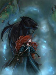 Lovely Brave art by Arbetta.