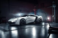 The Lykan Hypersport is an ultra-exclusive ride from the Dubai-based startup and is said to feature an engine that can produce 750 hp and 738 lb-ft of torque