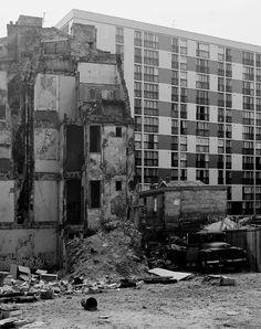 1972 - Belleville démoli -PARIS UNPLUGGED