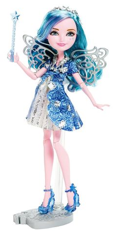 Farrah Goodfairy Ever After High Doll, 2015 - This is the debut Farrah doll. She is the daughter of The Fairy Godmother.