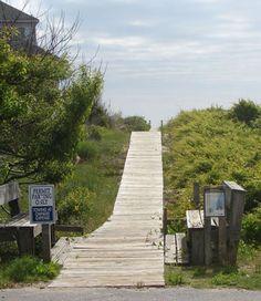 Dune Walkover on the way to Duck's Beach! http://www.townofduck.com/dunewalkovers/ #ducknc  #duckpr