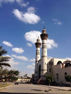 Mosque of Azhar university cairo Egypt