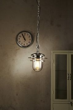 Piloting Pendant LightA solid brass and glass pendant light in a nickel finish. Glass Pendant Light, Glass Pendants, Pendant Lamp, Pendant Lighting, My Room, Solid Brass, Ceiling Lights, Cage, Entrance