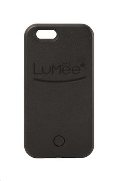 LuMee - LED Illuminated Selfie Light Up Case for Apple® iPhone® 6 | 4 Colors
