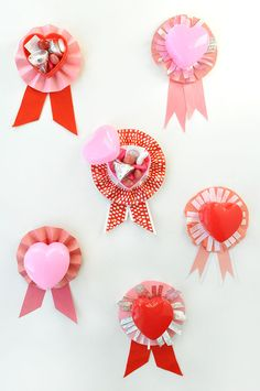 Valentine Ribbon Treats | Oh Happy Day!