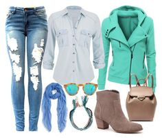"""Off Work"" by ellary-branden on Polyvore"