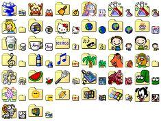 Computer Theme, Computer Icon, Iphone Home Screen Layout, Iphone App Layout, Themes App, Phone Themes, Shortcut Icon, Desktop Icons, Windows 98